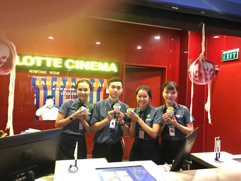 Rạp Chiếu Phim Nha Trang - Lotte Cinema Nha Trang