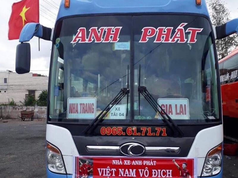 Nhà Xe Quốc Vương Anh Phát Nha Trang - Gia Lai