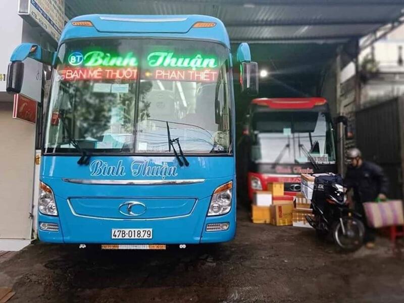 Nhà Xe Bình Thuận Nha Trang - Gia Lai