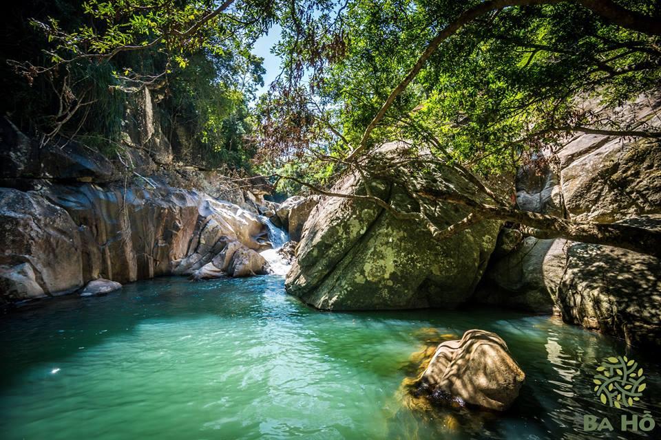Đắm mình vào dòng nước xanh mát