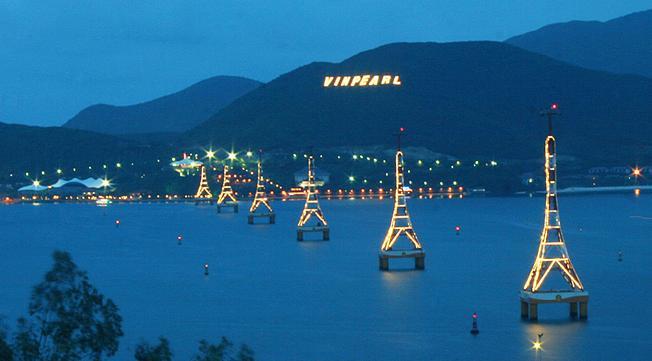 Khoảng cách Vinpearl Land tới Nha Trang