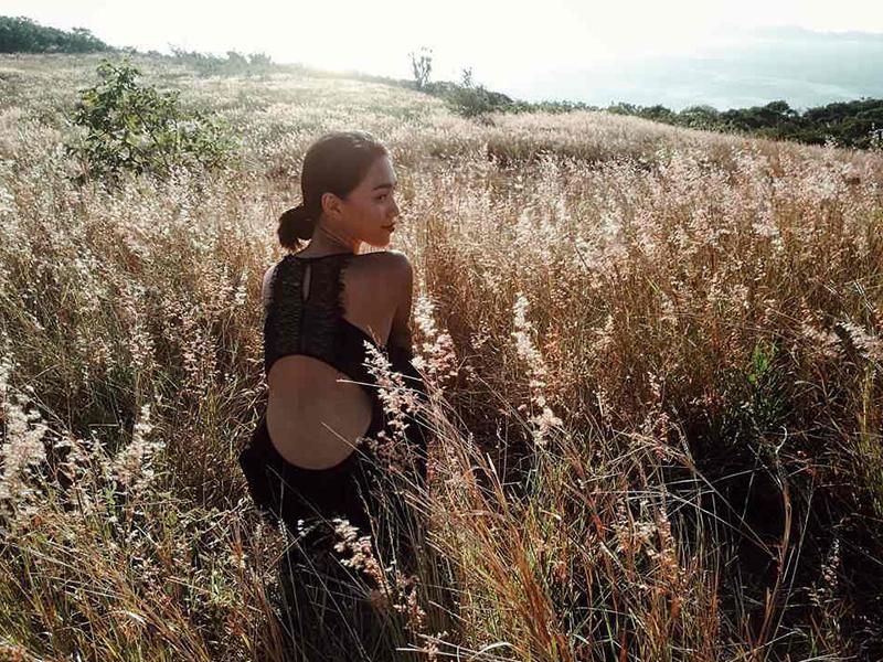 Khám phá đồi cỏ tại Bình Ba