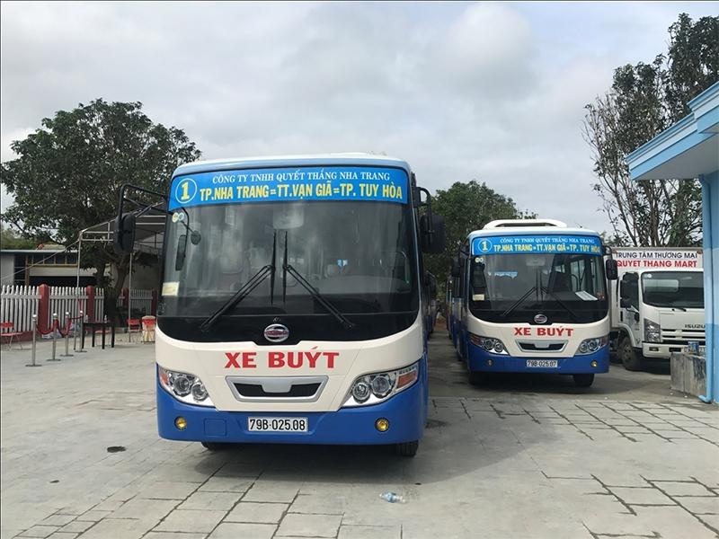 Tuyến xe Bus Phú Yên - Nha Trang