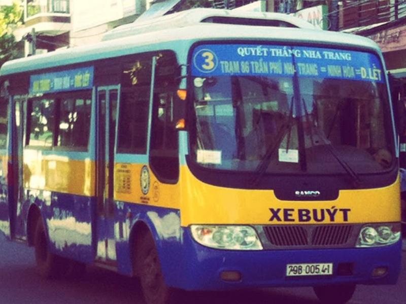 Di chuyển xe Bus