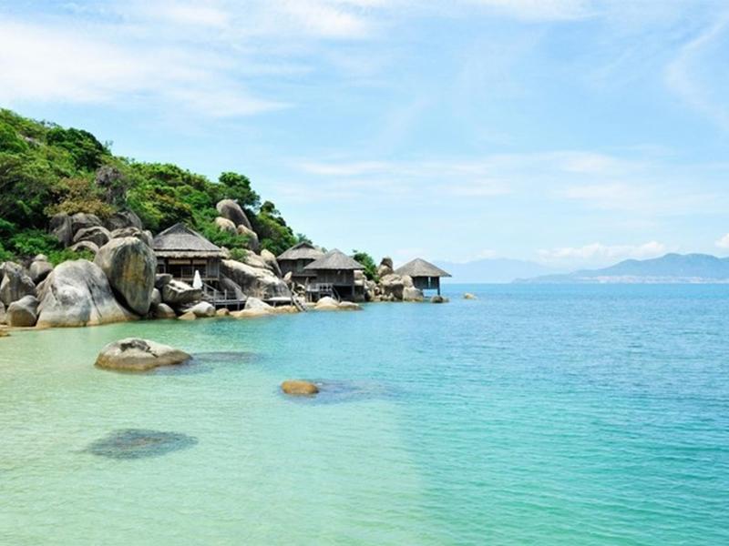 Biển Vịnh Ninh Vân