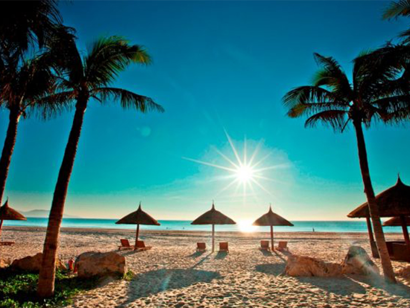 Thư giãn tại Đảo Dừa
