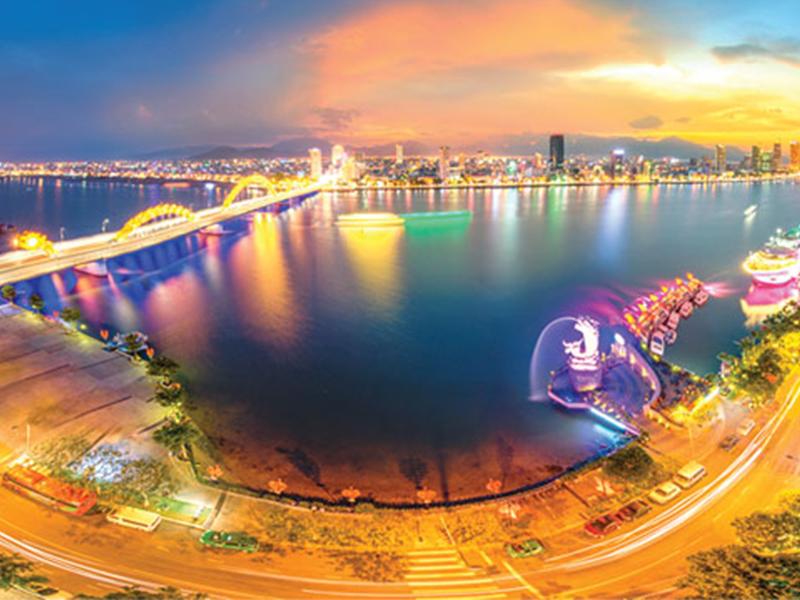 Vẻ đẹp thành phố Đà Nẵng về đêm