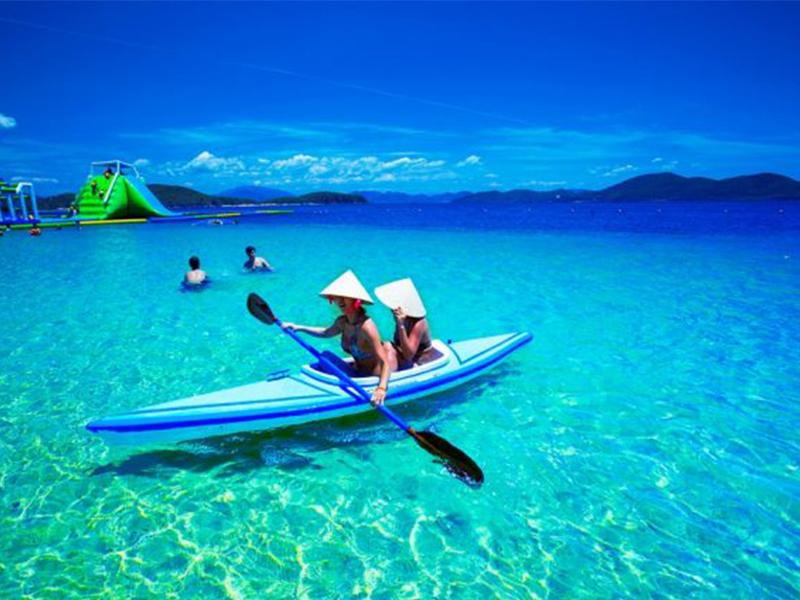 Đì thuyền Kayak