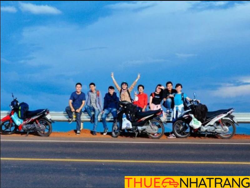 Thuê xe máy di chuyển tại Nha Trang