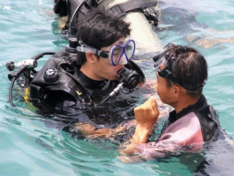 Hướng dẫn của thợ lặn