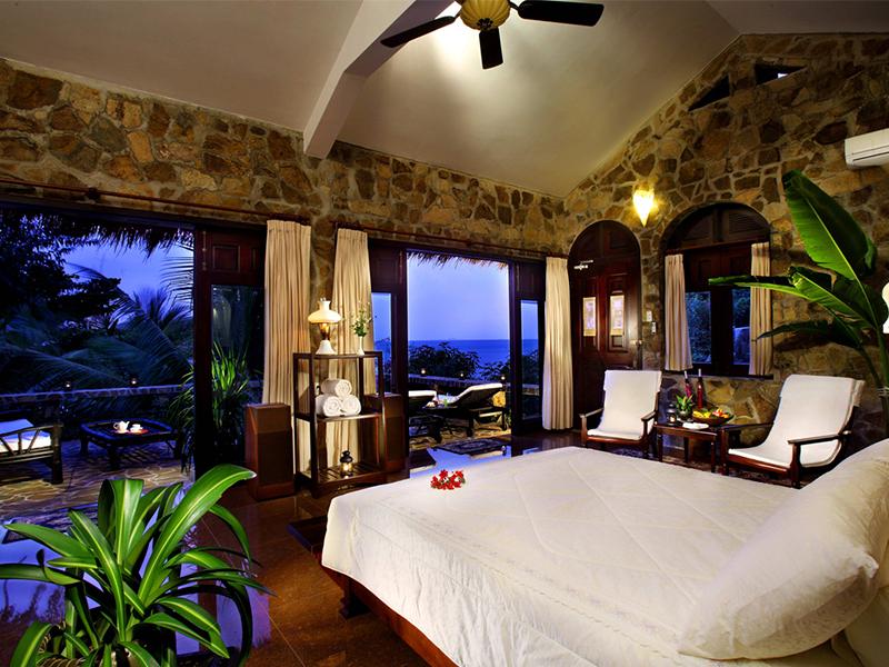 Phòng ngủ tại Mini Beach