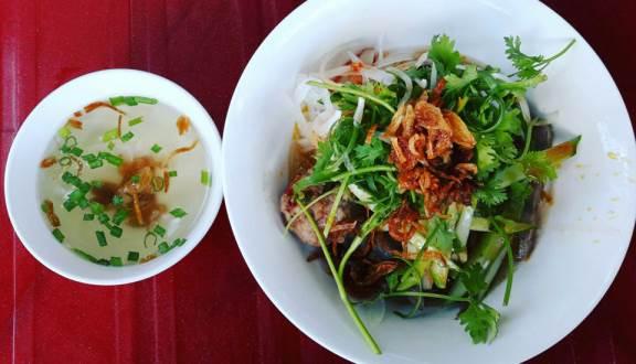 Quán bánh canh khô Nha Trang