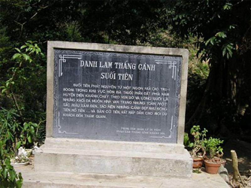 Khu du lịch Suối Tiên Nha Trang