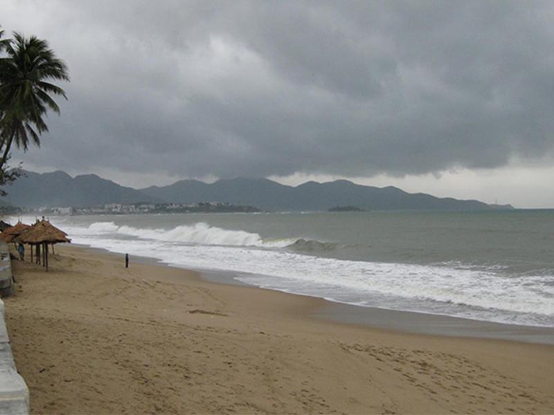 Mùa mưa ở Nha Trang