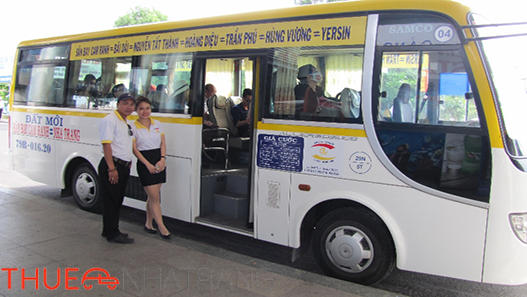 Xe đưa đón từ sân bay Cam Ranh