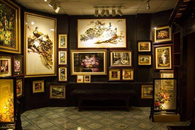 Tranh thêu XQ sử quán Nha Trang