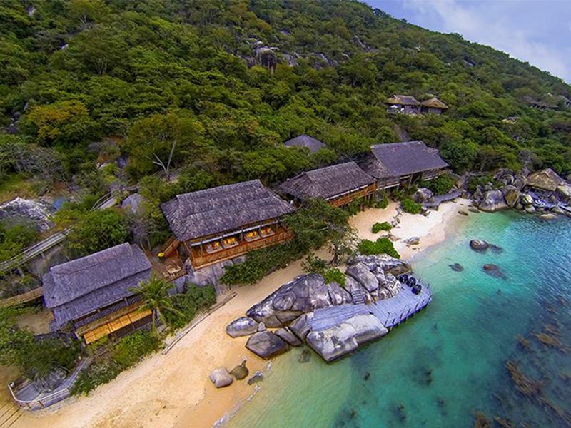 Vịnh Vân Phong với phong cảnh tuyệt đẹp