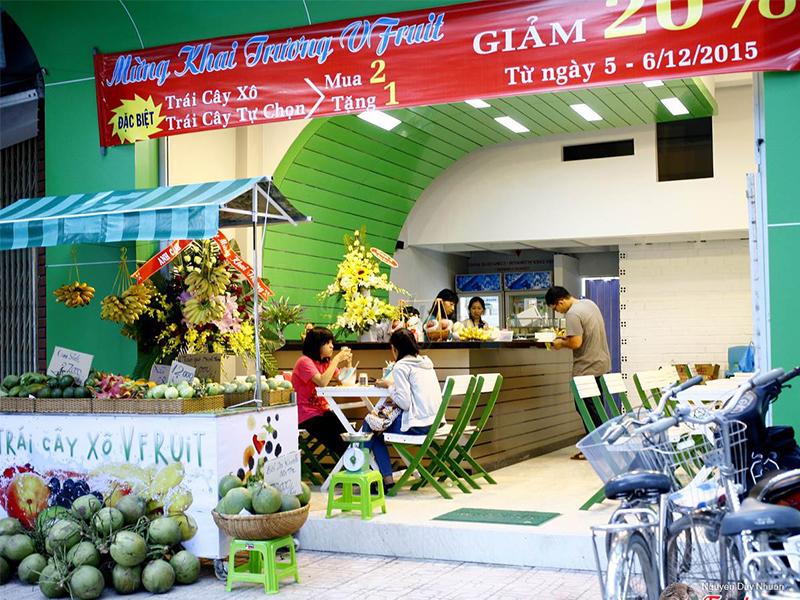 Trái cây Vfruit Nha Trang